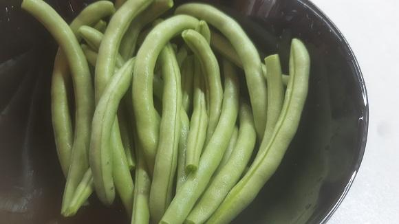 Паниран зелен боб 1